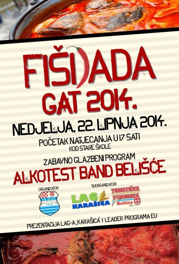 FISIJADA gat  PLAKAT 20142